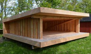 Shelter Nordic Odin moderne design